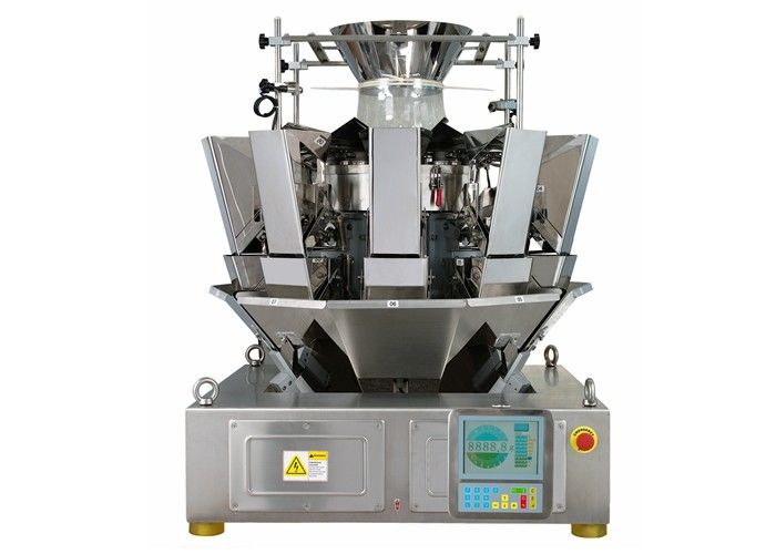 1.6L Hopper 10 Heads Multihead Weighers , 65 Bags / Min Automatic Weigher supplier