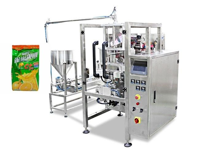 Automatic Liquid Packaging Machine , Automatic Beverage Drink Packing Machine