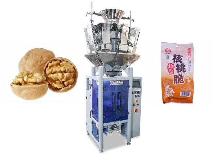 Automated Packing Machine , Vertical Form Fill Seal Packaging Machine For Pecan supplier