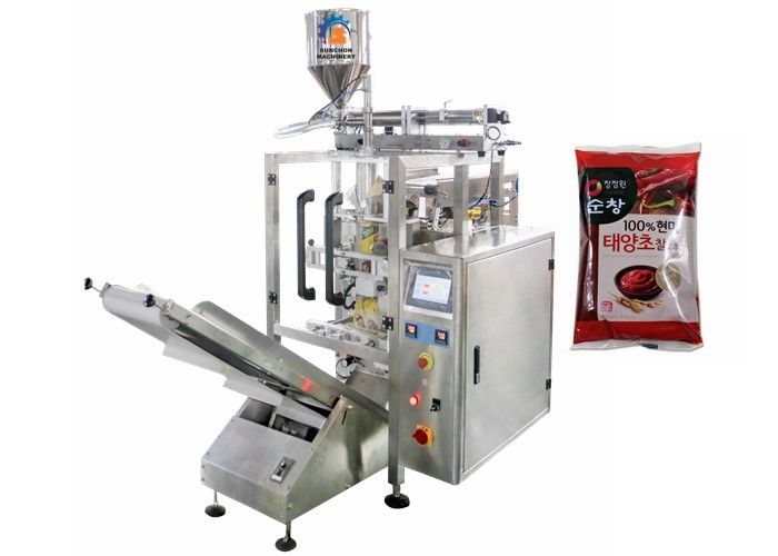 5bag/Min Sweet Chili Soy Sauce Liquid Packaging Machine