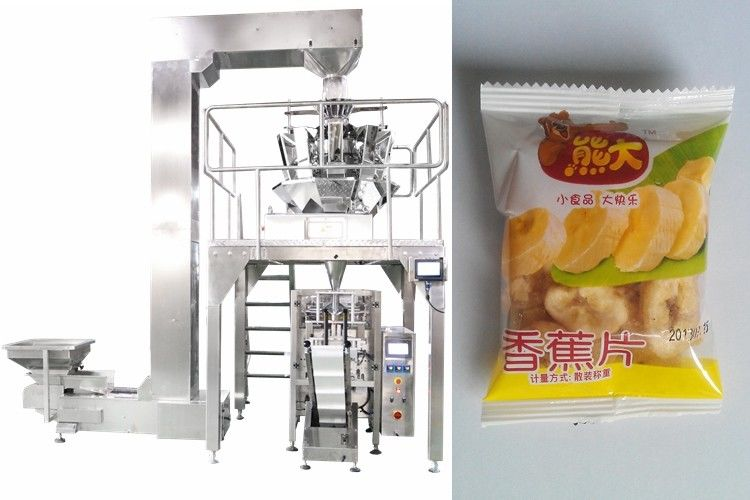1000ml Automatic Vertical Packaging Machine For Frozen Shrimp / Dry fruits / Nuts