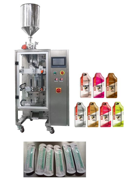 High Speed Vertical Liquid / Paste / Jam /Water /Jelly Automated