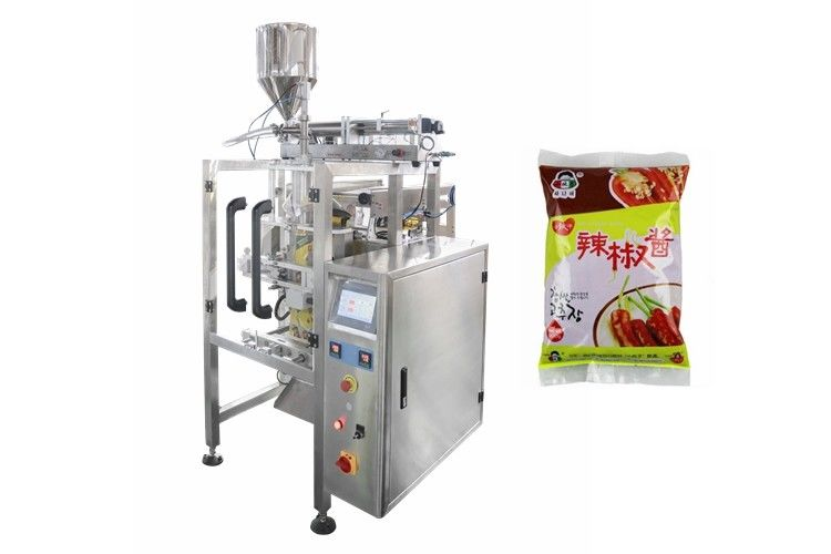 Stainless Steel Vertical Form Filling Sealing Machine For Packaging Liquid Products supplier
