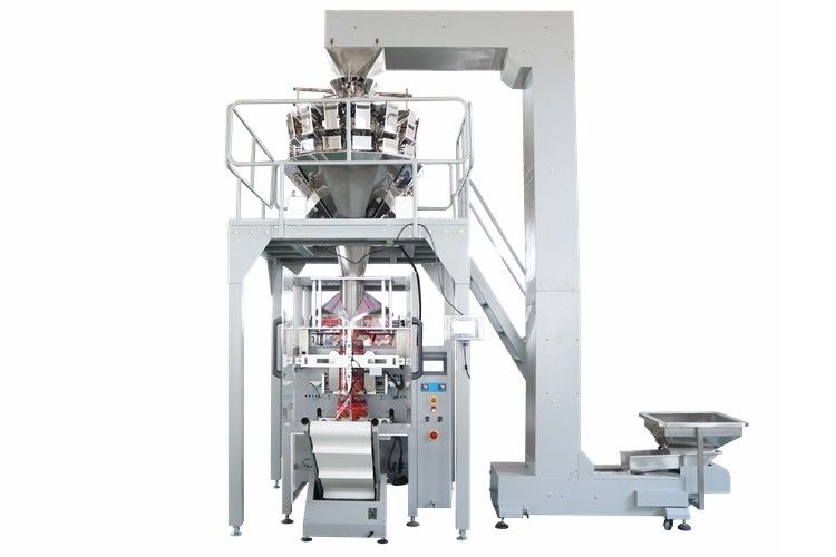 20g 50g Sachet Roasted Cashew Nuts Packaging Machine 14 Heads Weigher supplier