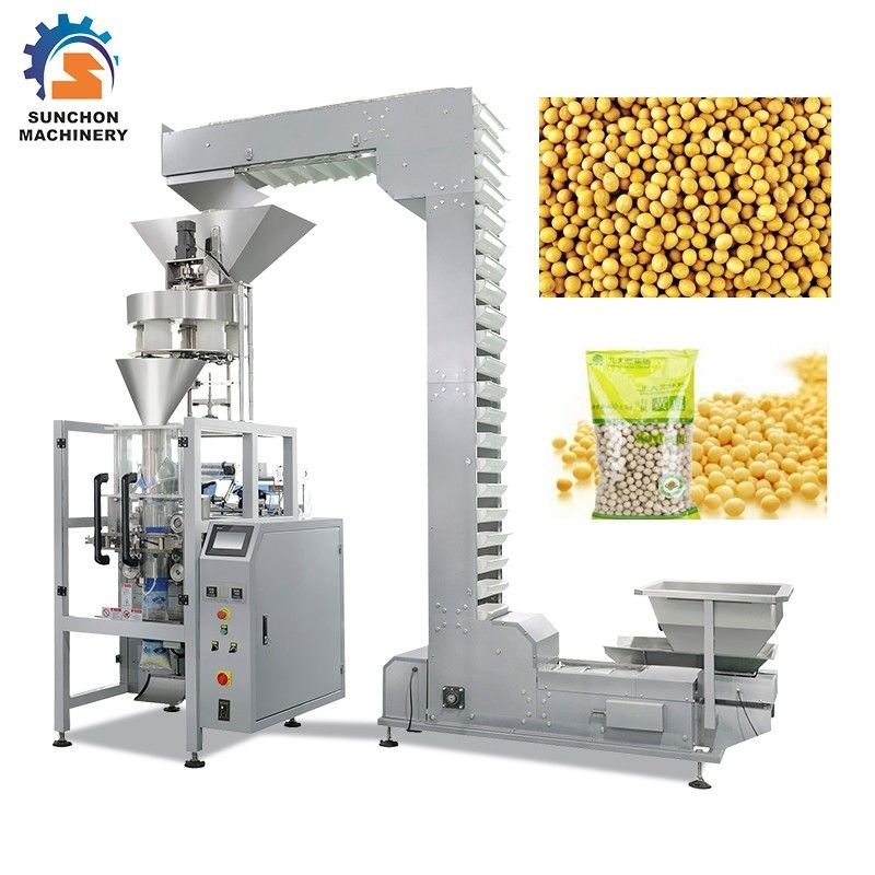 2.2KW Vertical Granule Packaging Machine For Soybean 4000ML Volume supplier