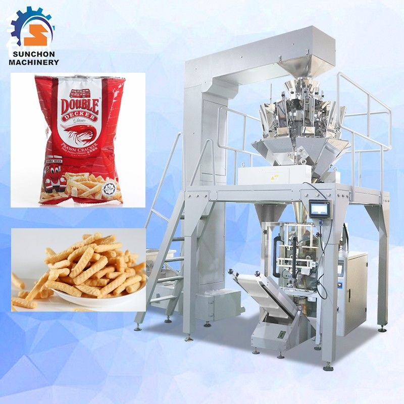 Frequency Control Vertical Packing Machine For Dried Shrimp / Sugar / Candy supplier