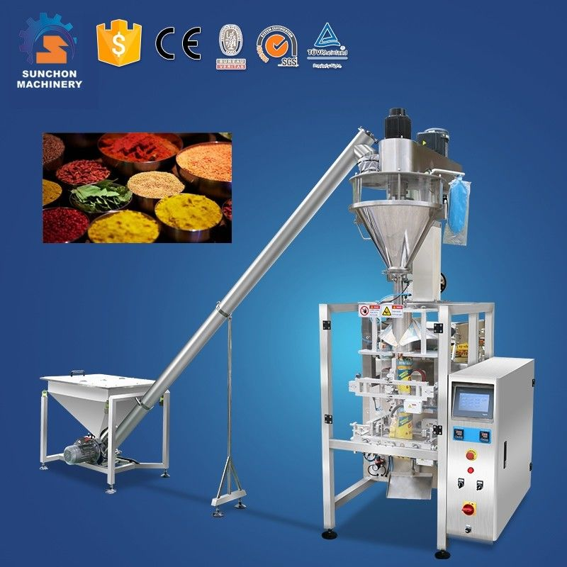 Highly Automatic Vertical Powder Spice Packing And Filling Machine
