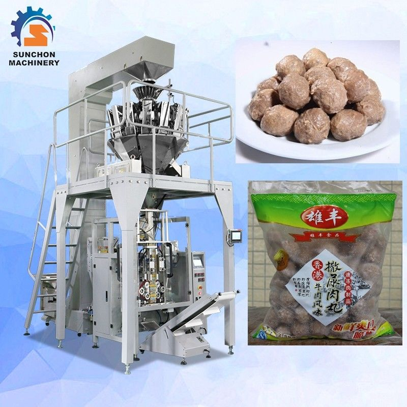 100g~1kg Barley chickpeas  Pluses Grain Snack Dry Fruit Crisps Pellet Automatic Vertical Packaging Machine supplier