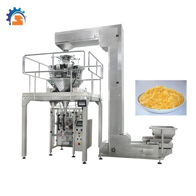 MultiHead Weigher Automatic Rice Chin Chin  Peanut Packing Machine supplier
