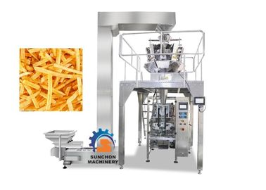 High Efficiency Vertical Automatic Packaging Machine For Popcorn , Snack Foods 1000ML Volume