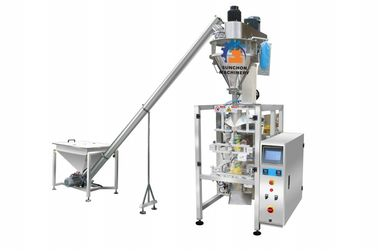 Wheat Flour / Milk Powder Packaging Machine With Auger Filler 3kw Power