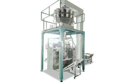 Snacks / Rice Automatic Filling And Packing Machine Touch Screen Operate