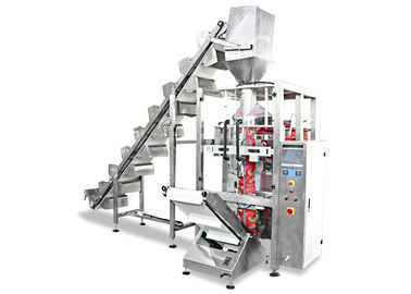 High Speed Vertical Form Fill Seal Machine With Multi Head Weigher Auger Filler
