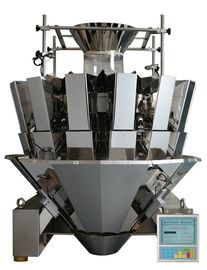 CE 14 Head Weigher For Granule Products , Stepmotor Display Multi Head Machine