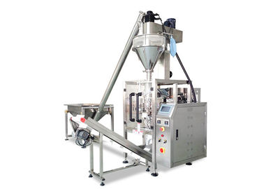 Milk Powder / Flour Auger Filler Packing Machine Lamination Film Packing