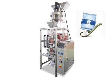 Sugar / Salt / Beans / Seed / Chemical Fertilizer Granules Filling Packing Machine 2.2kw