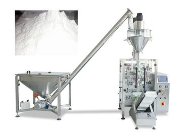 Small Vertical Packing Machine With Auger Filler For Soap Powder / Wheat Flour