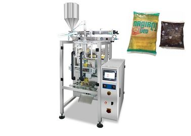 Electric Liquid Packaging Machine , Automatic Bagged Olive Oil Pouch Packing Machine