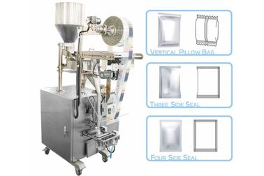 50 - 500g Granule Pillow Bag Sealing Sachet Packing Machine For Seeds / Fry Foods