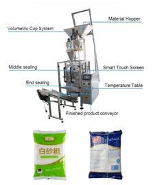 Multi Function Automatic Granule Packing Machine PLC Control For White Sugar
