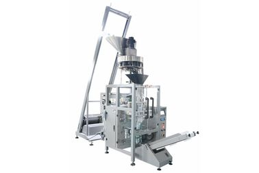 Grand Coffee bean / Nuts / Seeds / Snack foods Packaging Machine 0.04 - 0.09mm Film Thickness