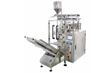 Stainless Steel Automated Packing Machine , 250ML - 1500ML Plastic Bag Liquid Oil Filling Machine