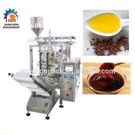 Automatic Liquid Packaging Machine For Peanut Butter , Olive Oil , Cream
