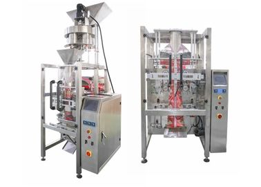Stainless Steel Small Sachet Salt Filing Packing Machine / Granule Packaging Machine