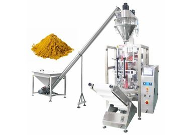 Pillow / Gusseted Bag Coffee Powder Packaging Machine With Colorful Touch Screen