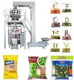 PLC Control Automated Packing Machine / Vertical Form Fill Seal Packaging Machine Speed 5 - 60 Bags / Min