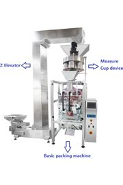 High Speed for Granule Bean / Sugar / Salt Automated Packing Machine With PLC Control Multi - Function
