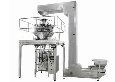 Efficient Full Automatic Snack Food Packing Machine For Nuts , Hazelnuts