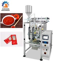 Automatic Vertical Liquid Packing Machine For Ketchup / Tomato Paste Sachet