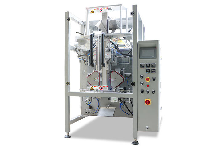 Small Hardware / Pipe Fittings Multihead Weigher Packing Machine With Mild / Stainless Steel Body