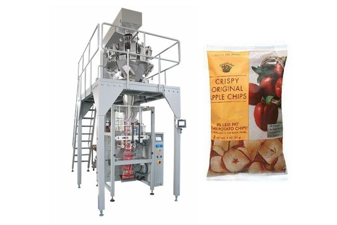 High Speed Multihead Weigher Automatic Packing Machine For Dried Saffron , Cranberries , Fruit
