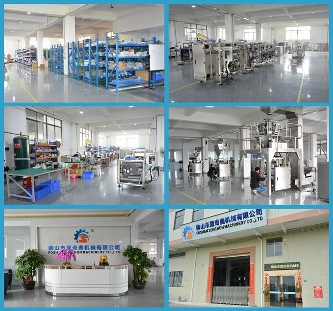 MultiHead Weigher Automatic Rice Chin Chin  Peanut Packing Machine